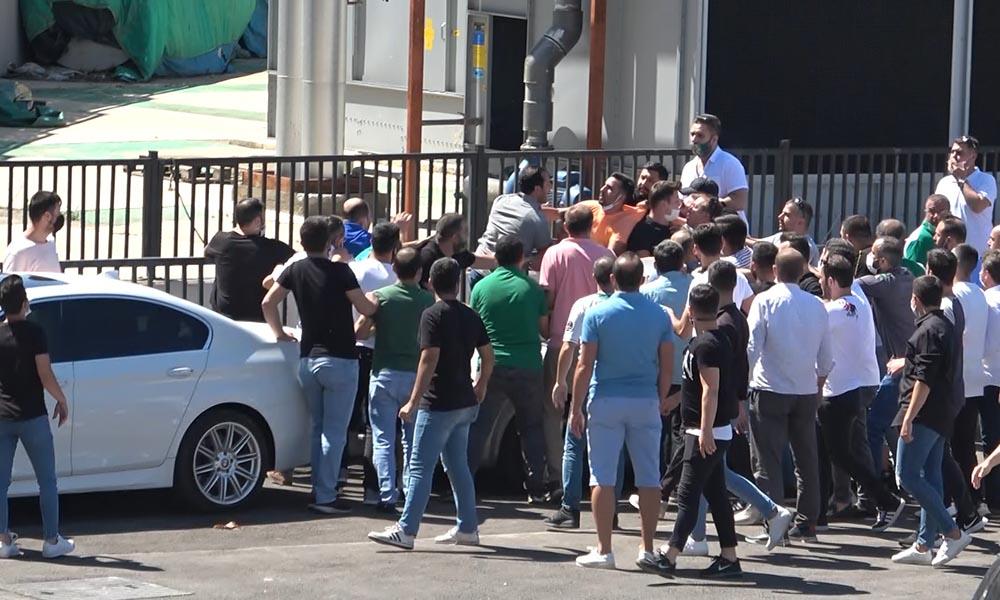 Bursaspor kongresinde gergin anlar! Çevik kuvvet müdahale etti