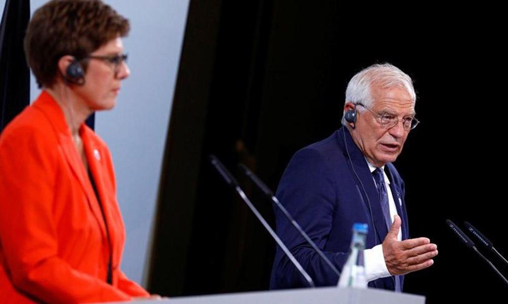 Mikrofonu açık kalan Alman bakandan dikkat çeken Türkiye yorumu