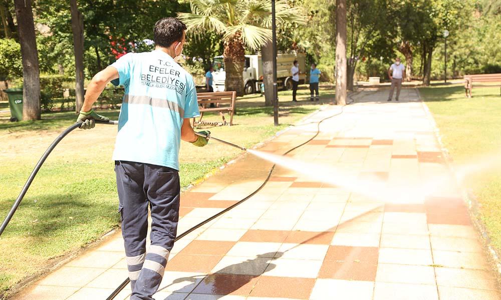 Pınarbaşı'nda sanat için temizlik