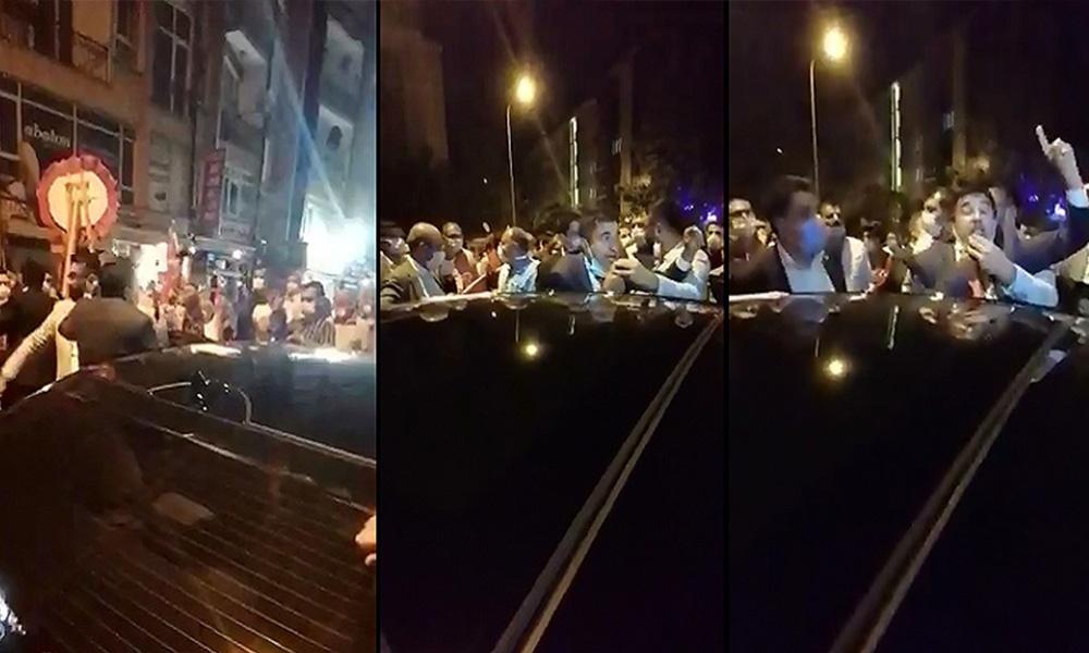 30 Ağustos yürüyüşüne polis müdahalesi! CHP'li vekile tekme atıldı