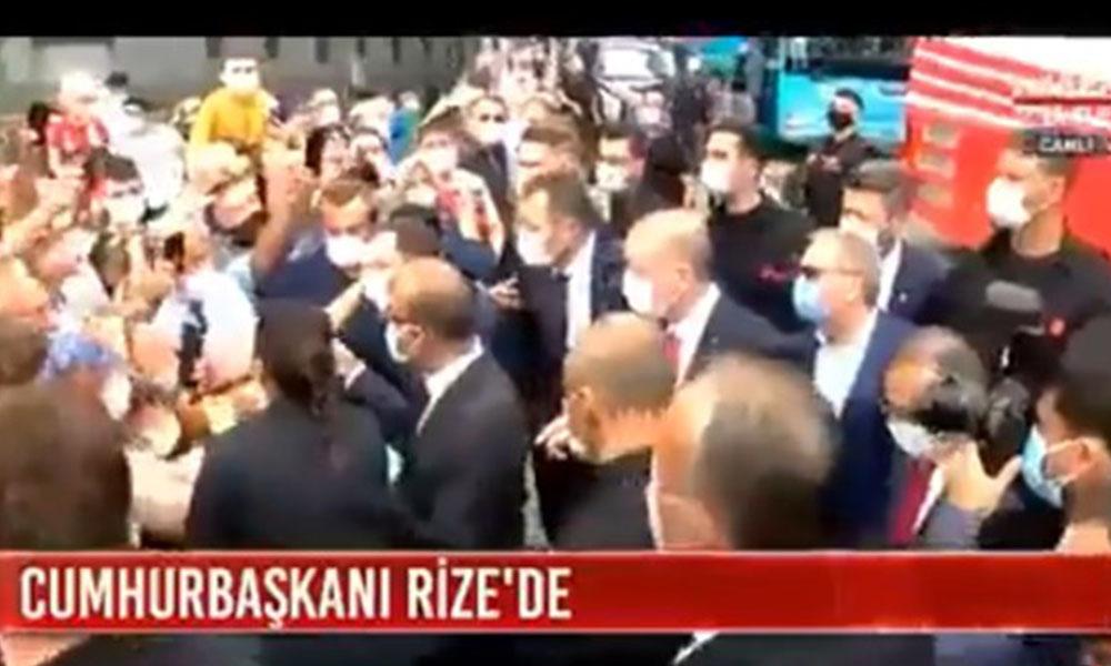 Erdoğan'ın yüzüne isyan etti: Yardım et