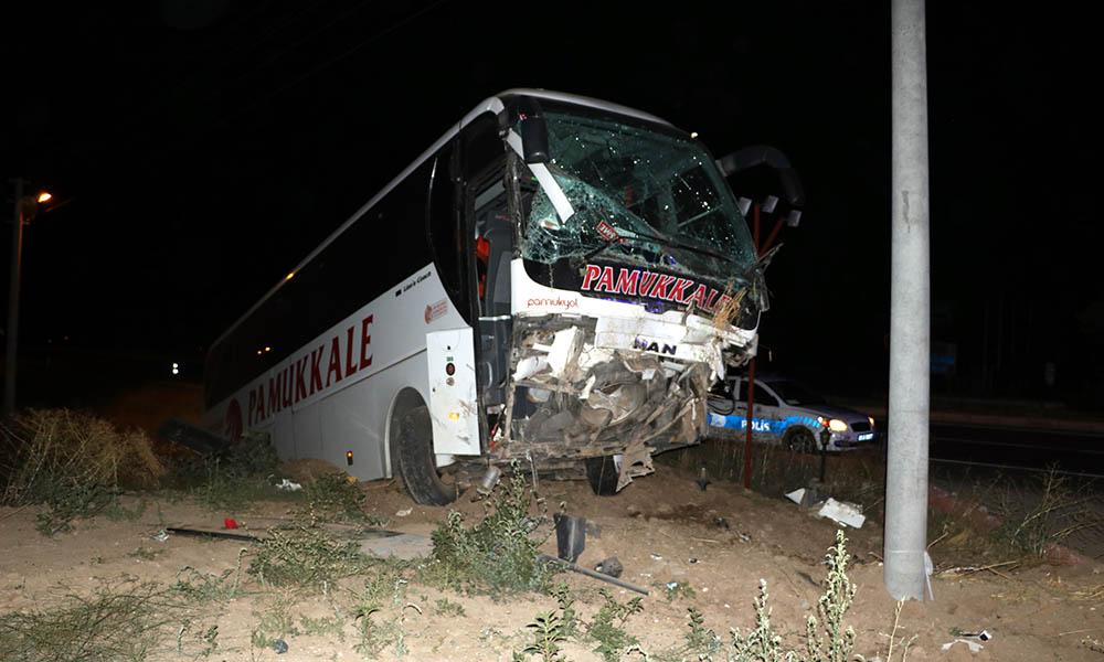 Yolcu otobüsü şarampole düştü! 30 yaralı…