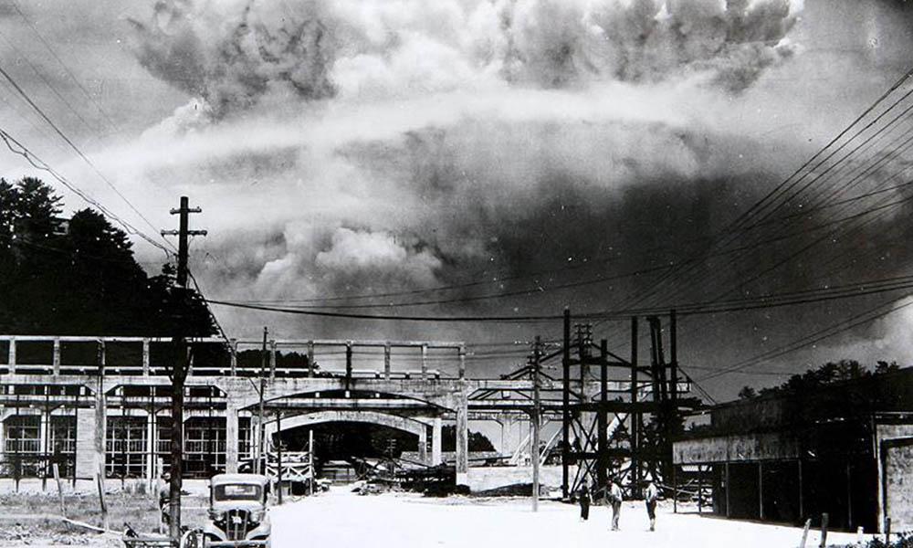 Nagazaki'ye atılan atom bombasının üzerinden 75 yıl geçti!