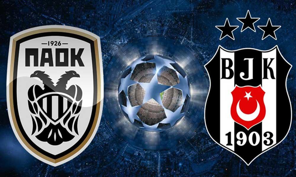 Yunanistan'a giden Beşiktaş'a PAOK'tan 'çarpıcı' karşılama