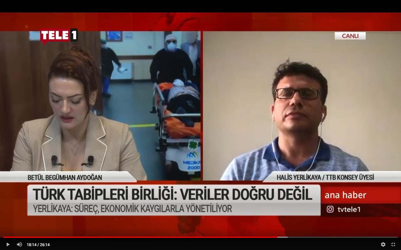 Türk Tabipleri Birliği: Veriler doğru değil