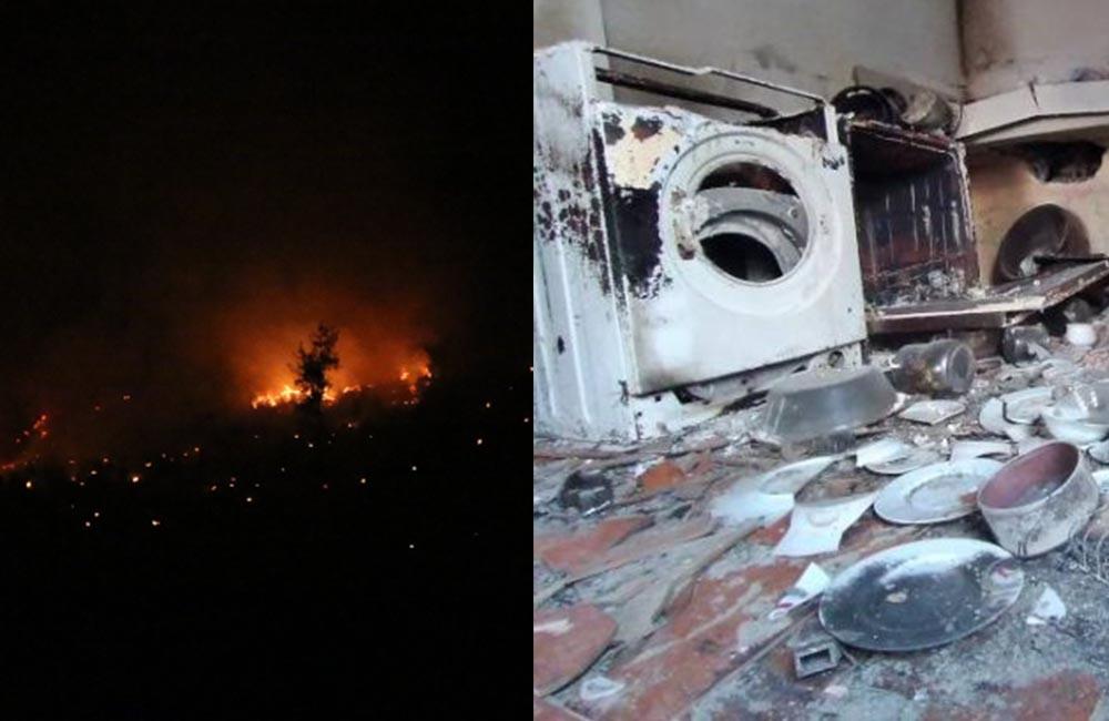Adana'da pazar günü başlayan yangında söndürme çalışmaları sürüyor