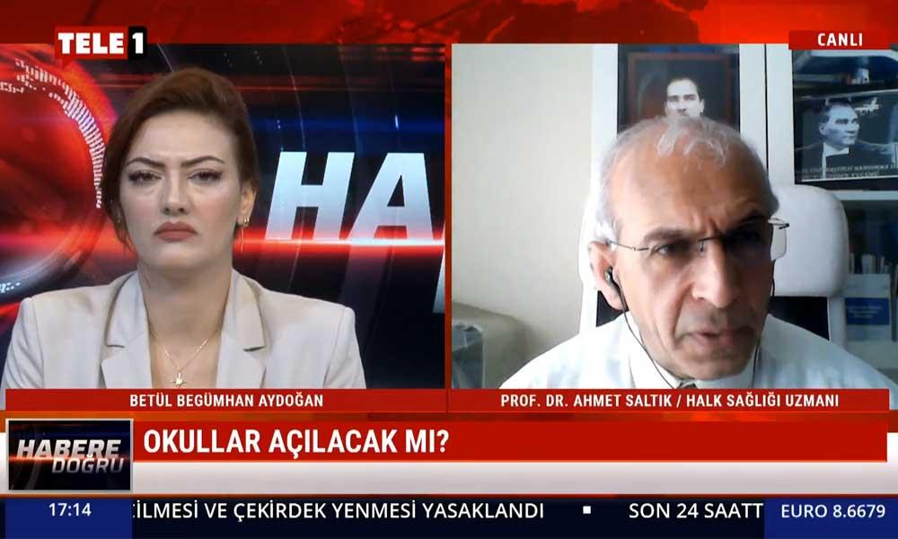 Prof. Dr. Ahmet Saltık: Sağlık Bakanı oturduğu yerden kalkıp, sahayı dolaşmalı