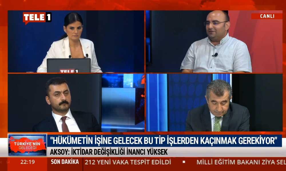 Ertan Aksoy: Yapılan ankete göre Millet İttifakı gücünü arttırıyor