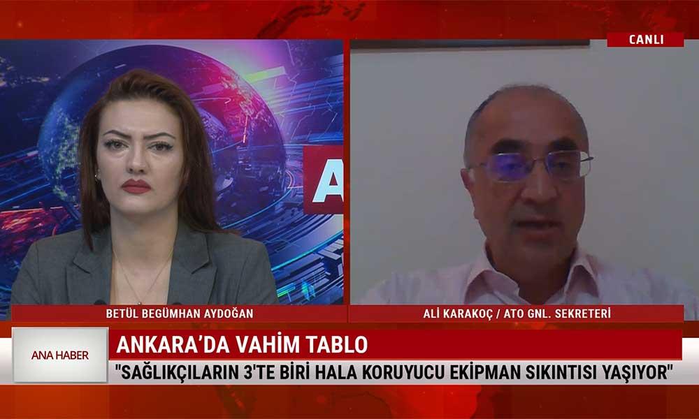 'Ankara'da son bir haftada 1000 vaka var; hastaları sedyede tedavi etmemizi istiyorlar'