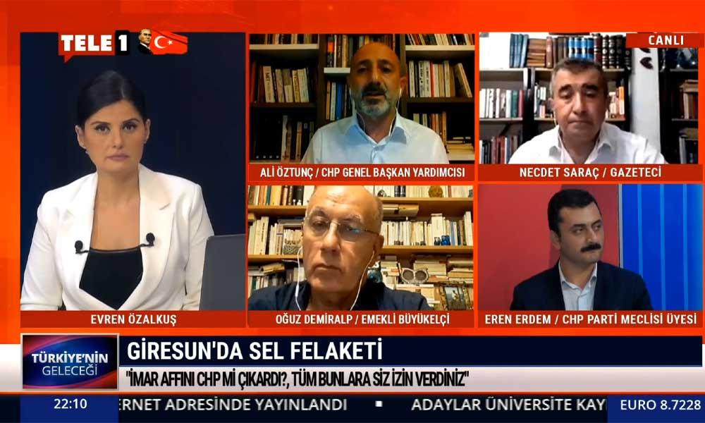 CHP Genel Başkan Yardımcısı Ali Öztunç: Yaşadığımız sorunların sebebi Erdoğan ve AKP hükümetidir
