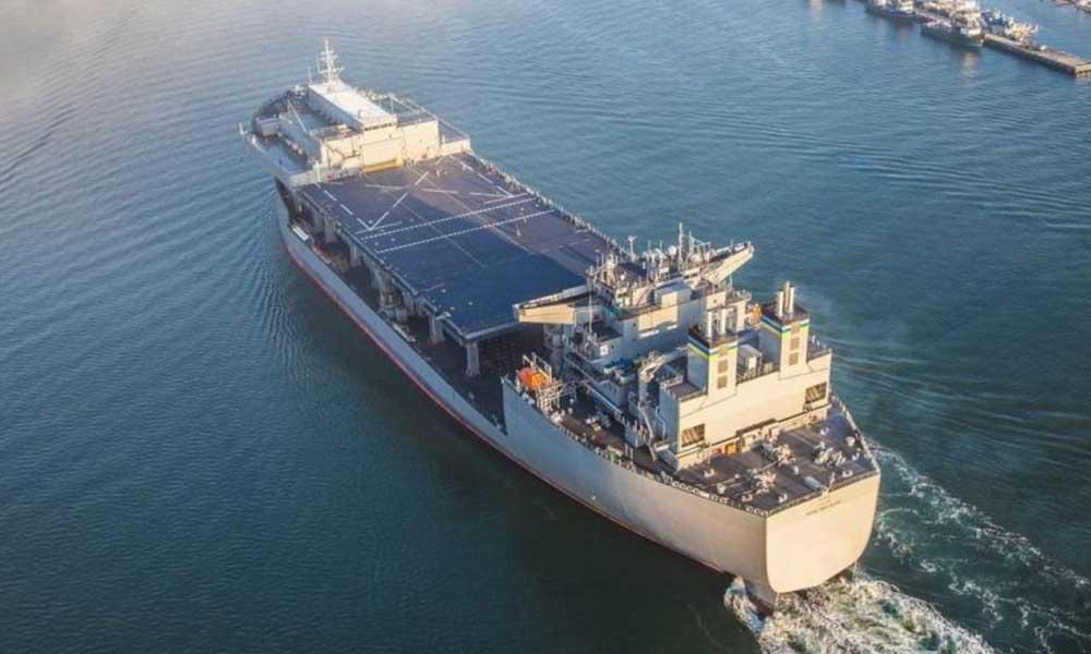 ABD savaş gemisi Doğu Akdeniz'de