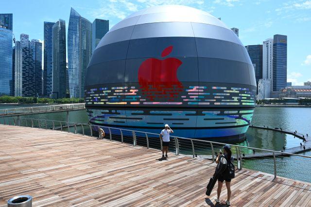 Apple yüzen mağaza ile dünya çapında reklamını yapacak