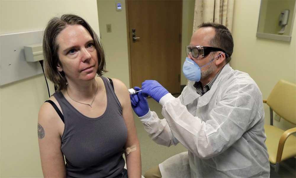 İlk koronavirüs aşısı denemesi yapıldı: Jennifer Haller izlenimlerini aktardı
