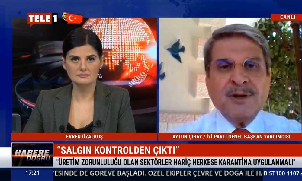 İyi Parti Genel Başkan Yardımcısı Aytun Çıray: İktidarın sağlık politikası iflas etti
