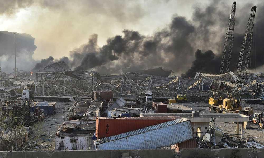 Ölü sayası bin olacak iddiası! Beyrut'ta yaralanan Türk vatandaşı sayısı arttı