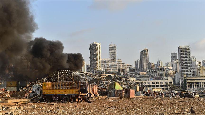 Beyrut Limanı sorumlularına ev hapsi verildi