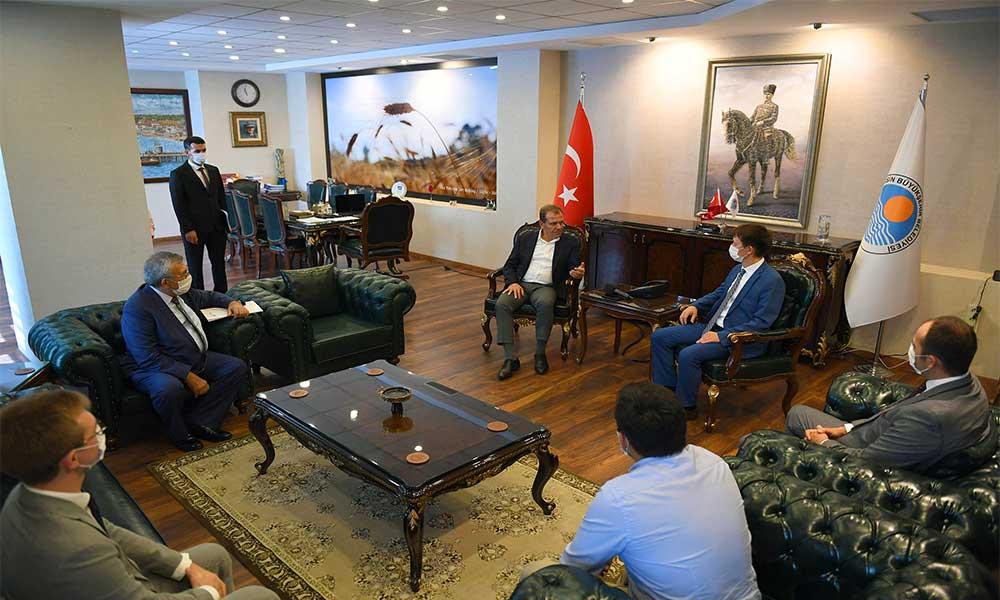 Başkan Seçer Tataristan heyetini ağırladı