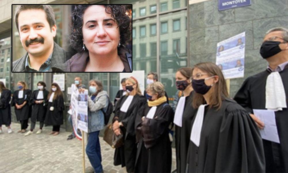 Belçikalı avukatlar Ebru Timtik ve Aytaç Ünsal için açlık grevine başladı
