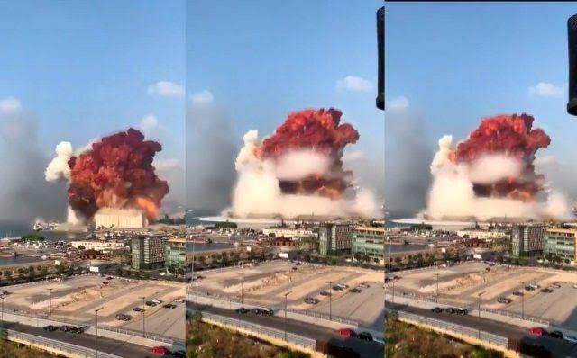Dışışleri Bakanlığı'ndan Beyrut'taki patlamaya ilişkin açıklama: 2 Türk vatandaşı yaralandı