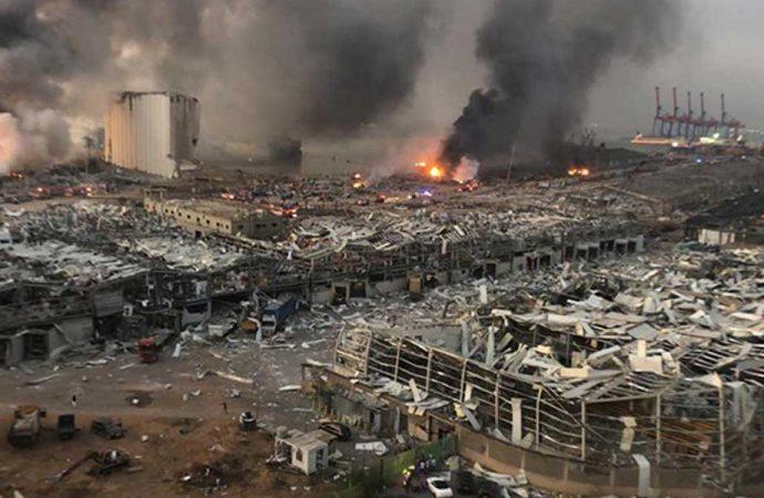 Beyrut'taki patlamada ağır bilanço: 154 kişi öldü, yaralı sayısı 6 bine ulaştı