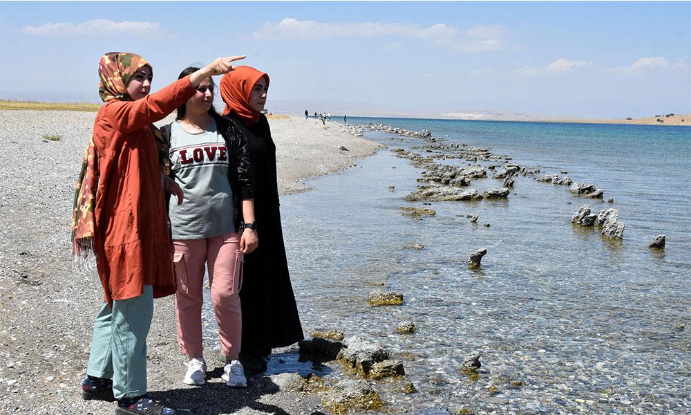 Van Gölü canavarını gördüğünü iddia etti: 20 metre uzunluğunda