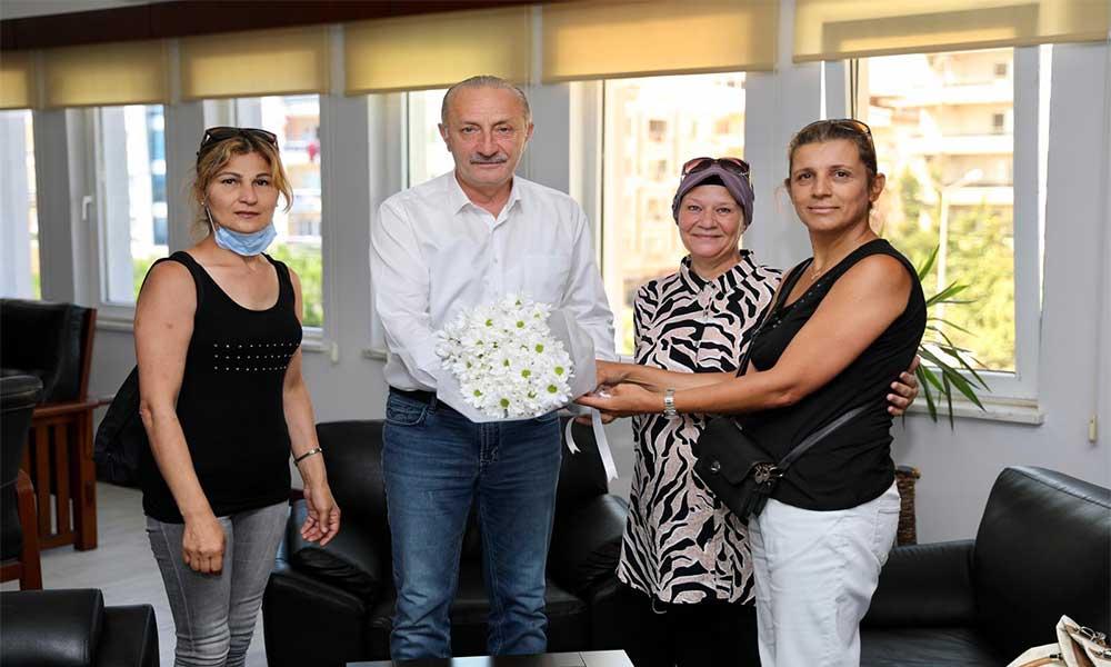 Başkan Altundal'dan, Atabay'a ziyaret