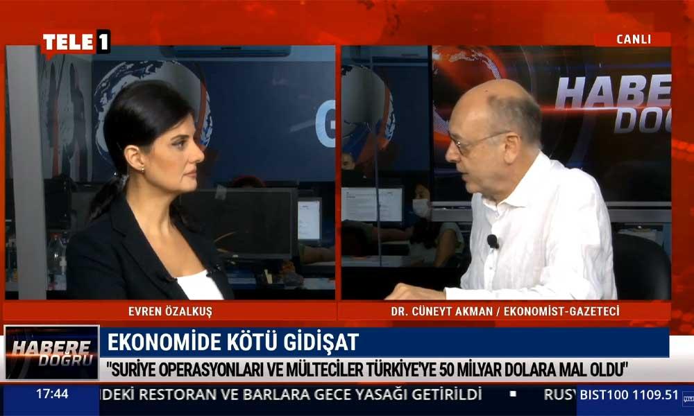 Cüneyt Akman: Erdoğan'a buzdolabı fikrini kim verdi merak ediyorum