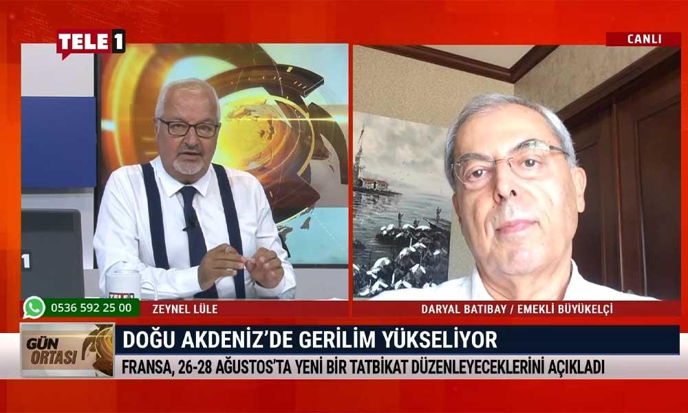 """""""Doğu Akdeniz'de moratoryum ilan edilmesi gerekiyor"""""""