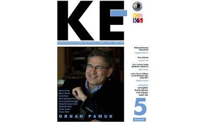 'KE' 5.sayısında Nobel ödüllü yazar Orhan Pamuk'u selamlıyor