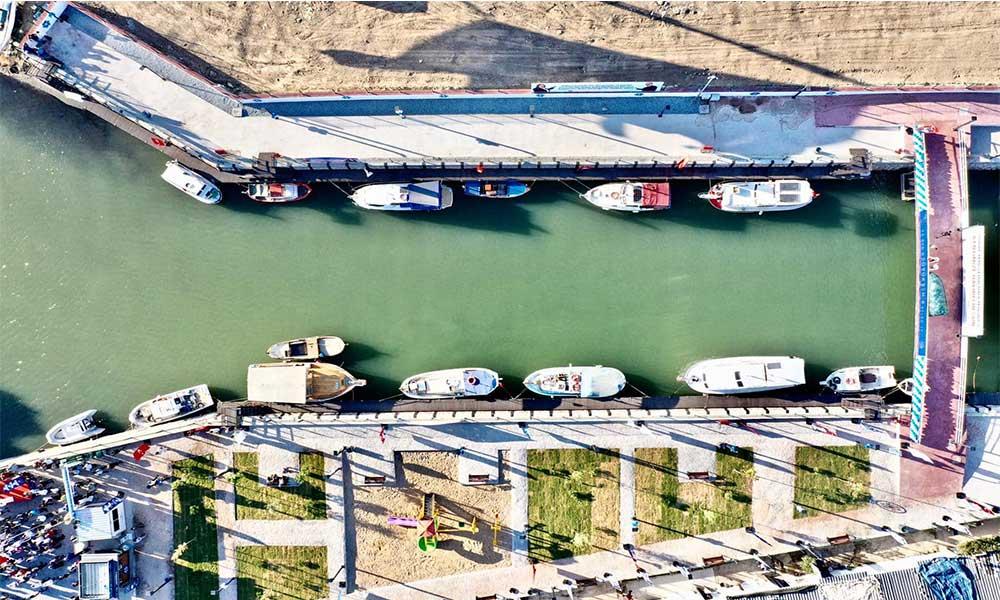 Didim Mavişehir halk marinası törenle açıldı