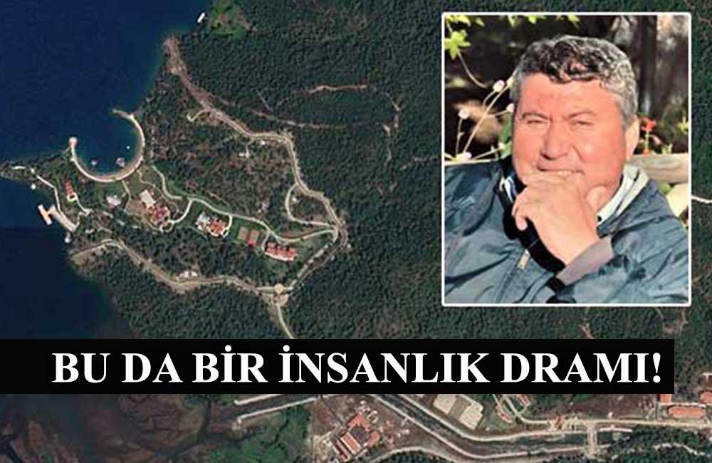 Erdoğan için boşaltılan koydaki arazisinin istimlakına yüreği dayanmadı!