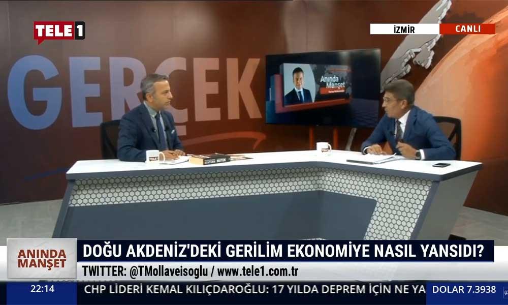 """""""Bugün Doğu Akdeniz'de olanlar adı konulmamış paylaşım savaşıdır"""""""