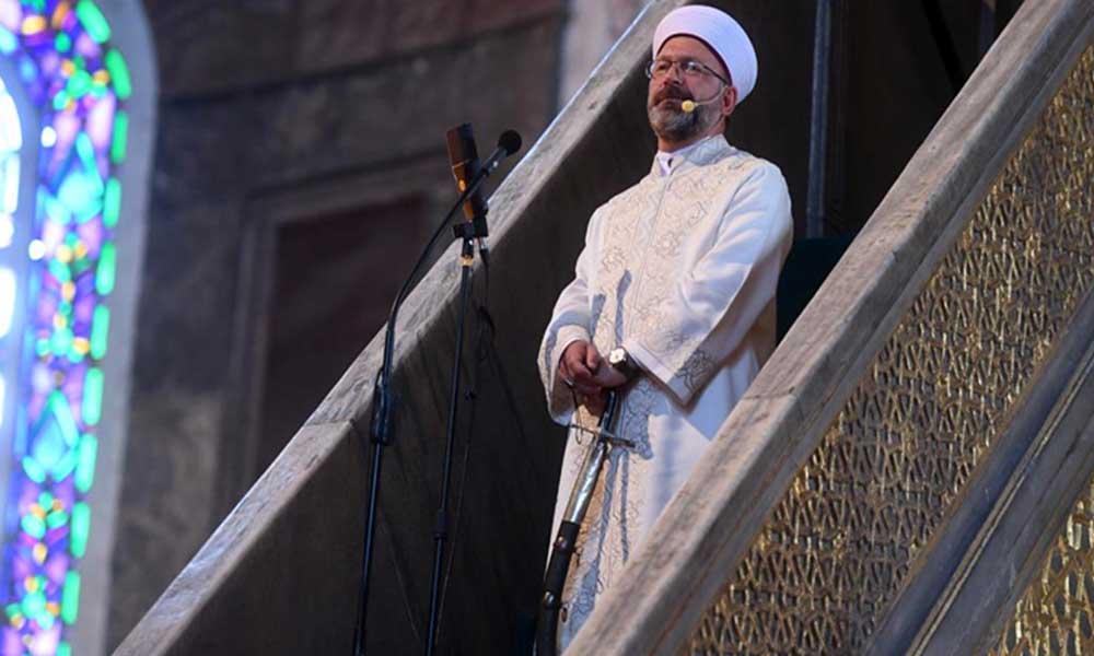 Erbaş'tan 'kılıçlı hutbe' açıklaması: 'Fethe dair bir mesajdır'