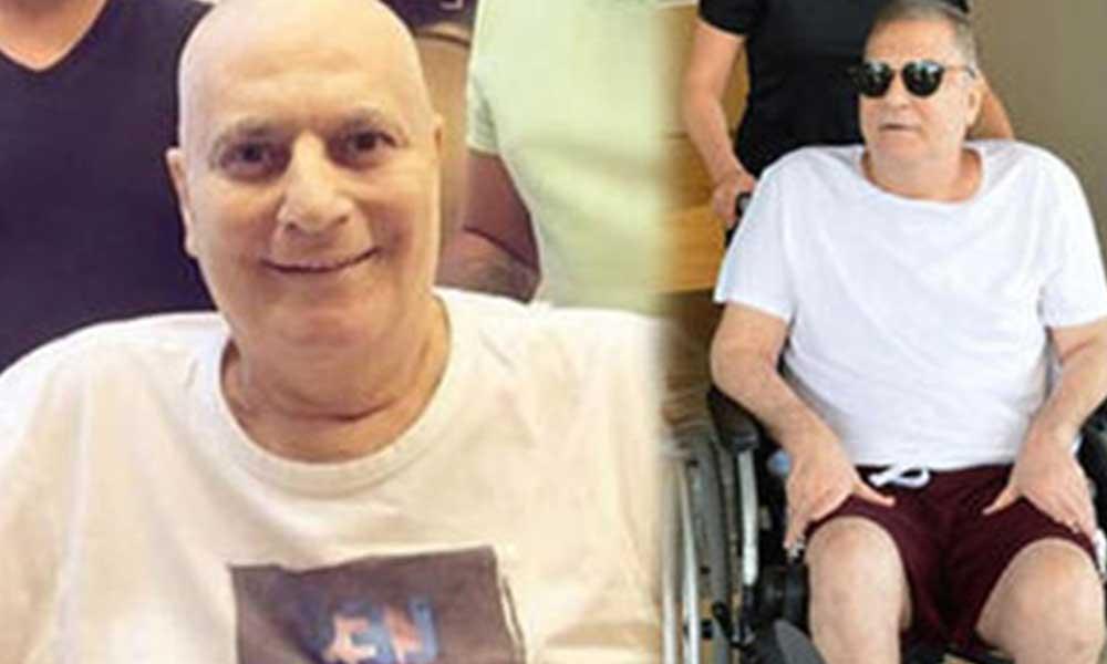 Kök hücre tedavisi gören Mehmet Ali Erbil'den sağlık durumu hakkında yeni haber geldi