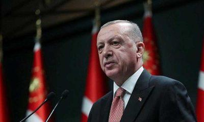 Erdoğan, Sivas Kongresi'nin 101'inci yıl dönümü dolayısıyla mesaj yayımladı