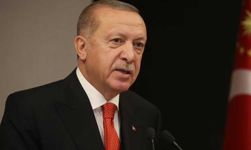 Erdoğan, AB Konseyi Başkanı ile görüştü