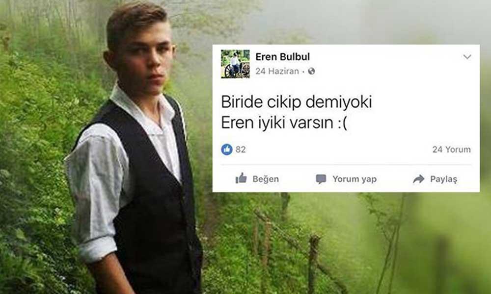 Eren Bülbül vefatının 3. yılında unutulmadı
