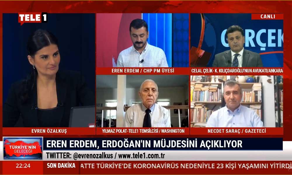 Eren Erdem, Erdoğan'ın 'müjde'sini açıkladı