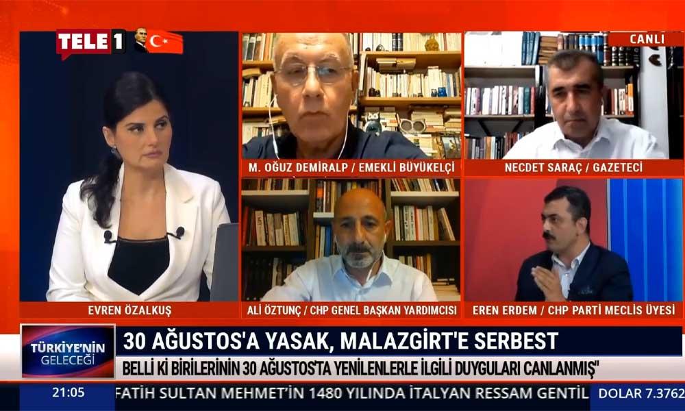 CHP PM üyesi Eren Erdem: AKP gerçek tarihi yok etmeye çalışıyor?