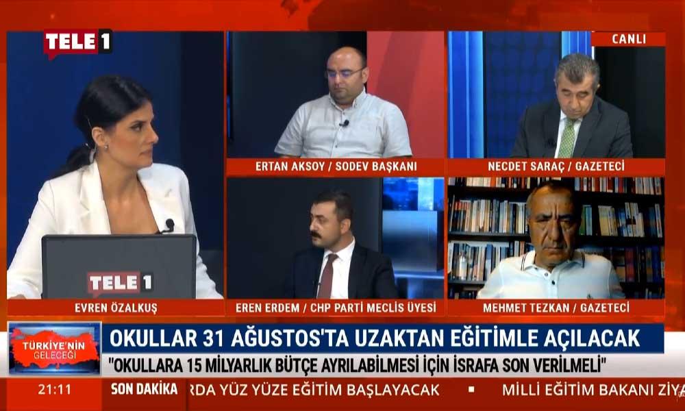 Eren Erdem: İktidarın eğitime bırakın 15 milyar lirayı, 15 lira kaynak aktarma potansiyeli yok