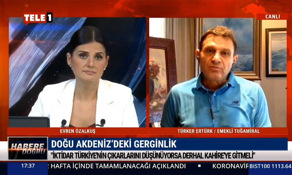 Türker Ertürk: Türkiye'nin Doğu Akdeniz'de kuşatılmasının sebebi bu iktidar