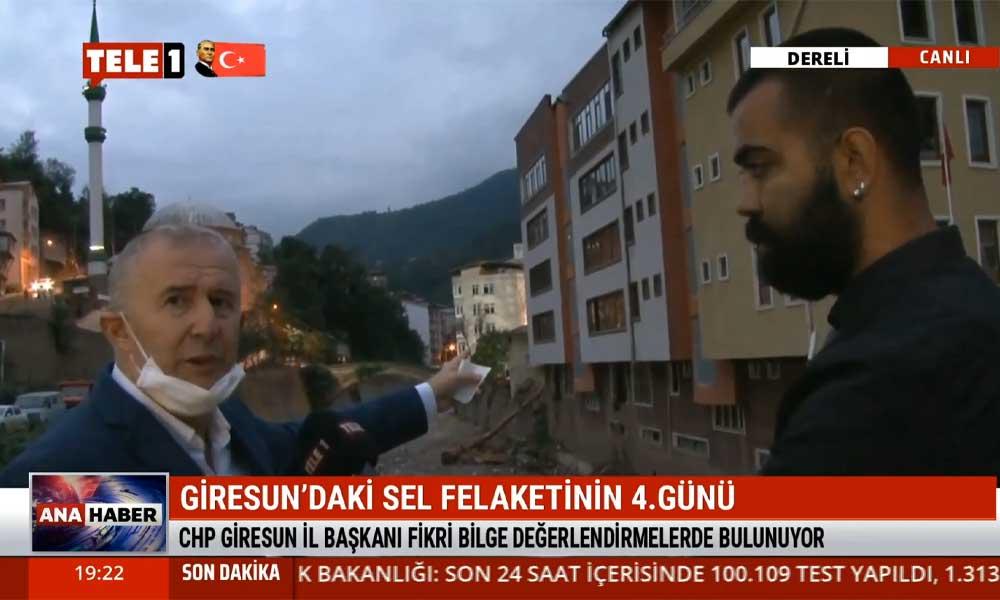 CHP Giresun İl Başkanı Fikret Bilge: Süleyman Soylu'ya soruyorum; devlet buraya kaçak bina mı yaptı?