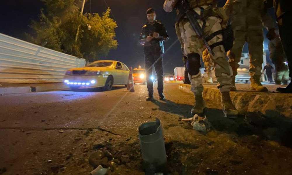 Bağdat Havalimanı'na roketli saldırı!