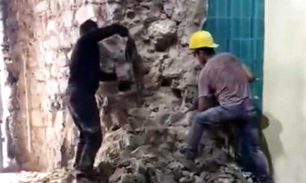 Galata Kulesi'ndeki tepki çeken restorasyonun yeni görüntüleri çıktı: Diğer katlarda da hasar var