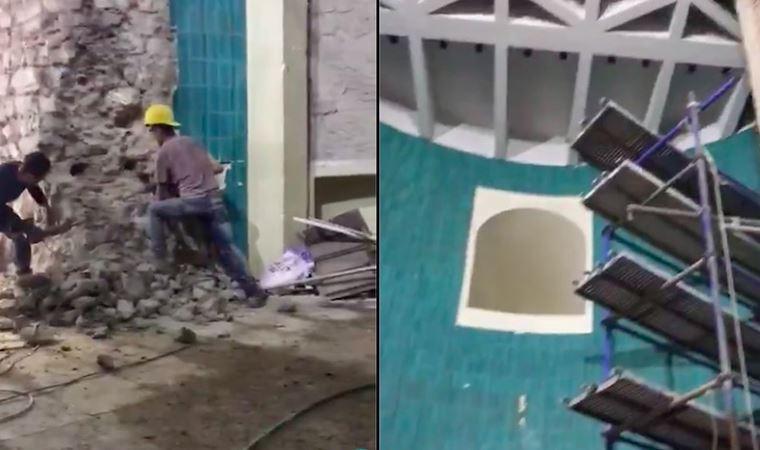 Kültür Bakanlığı yetkililerinden Galata Kulesi açıklaması: Yıkım, özgün yapıya ulaşma işlemi