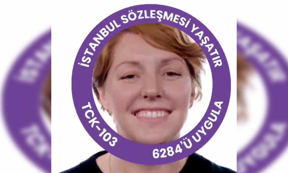 CHP'li gençlerden İstanbul Sözleşmesi profil fotoğrafı yapma programı