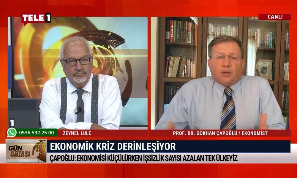 Prof. Dr. Gökhan Çapoğlu: TÜİK'in açıkladığı rakamlarla belki de dünyada rekor kırdık