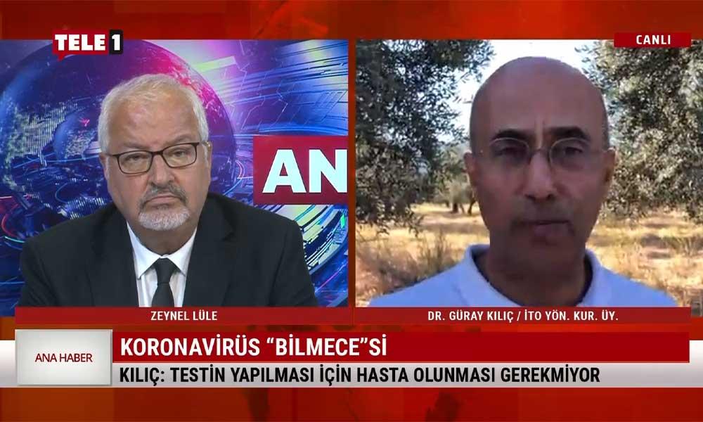 Dr. Güray Kılıç: Bakanlığın verileri ile ilgili ciddi kuşkular var