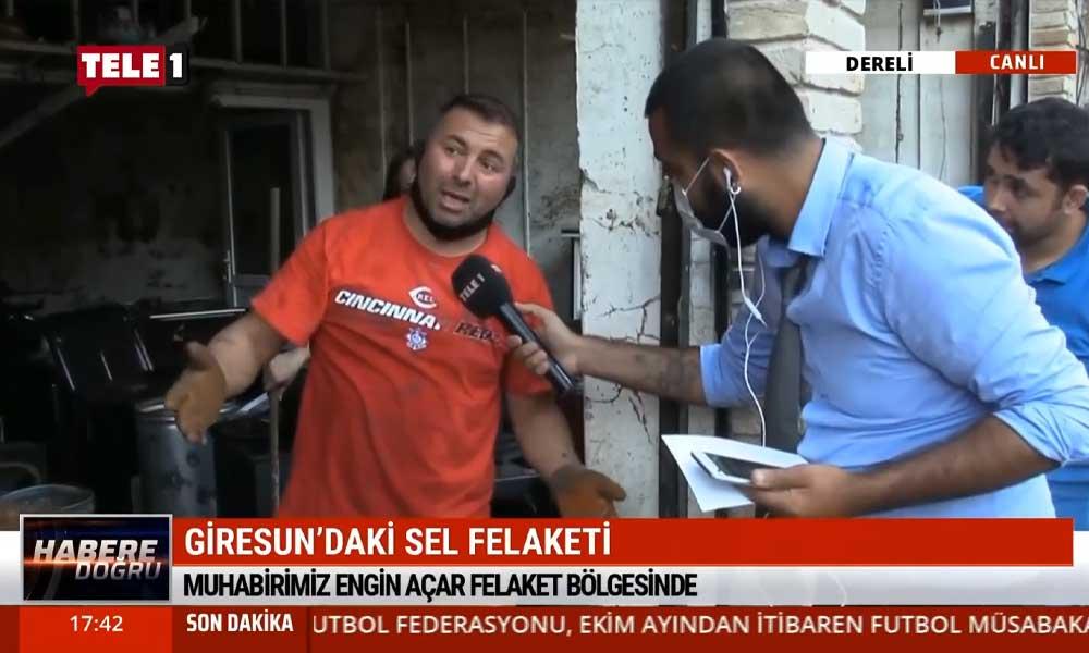 """Sel felaketinin ardından TELE1 Giresun'da: """"Önlem alınabilirdi ama alınmadı"""""""