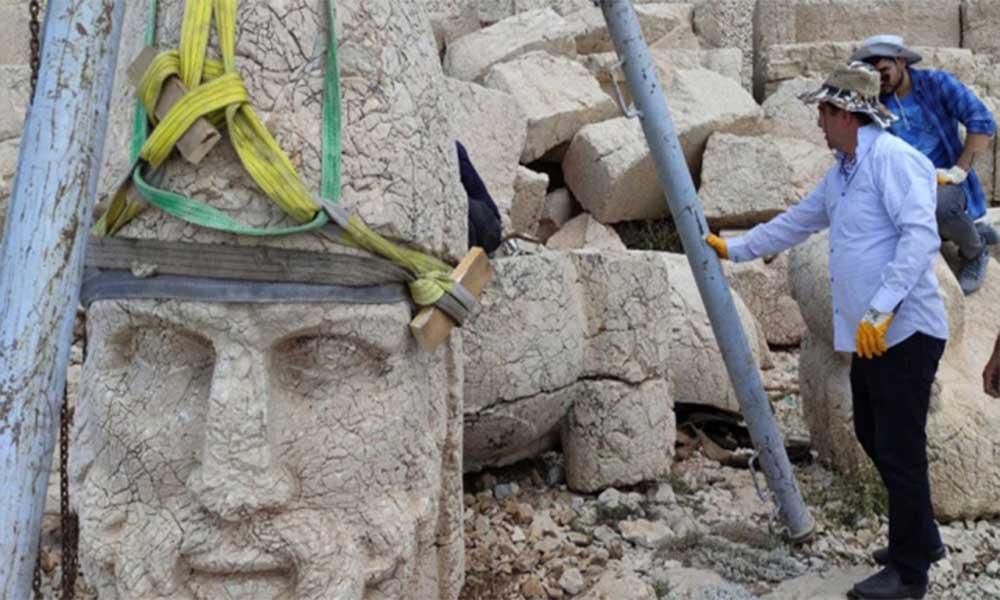 2 bin 60 yıllık mirasa sahip çıkıldı: Herakles heykeli kurtarıldı